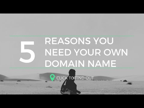 5 Reasons to Get A Domain Name for Affiliate Marketers