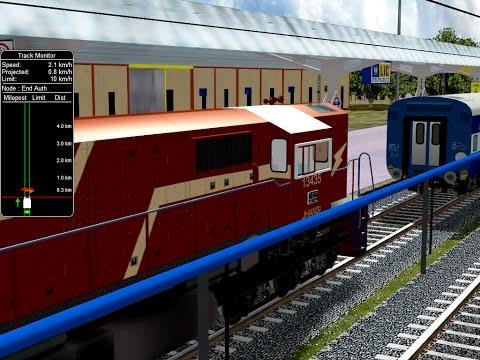 Shunting Activity Play On Itarsi Jn In Open rail || Indian Railways In MSTS Open Rail
