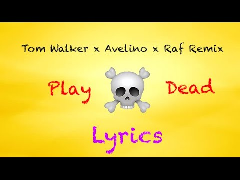 Tom Walker - Play Dead Lyrics (Avelino x Raf Riley Remix)