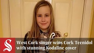 West Cork's Isabella Moore stunned judges at Cork Teenidol with her...