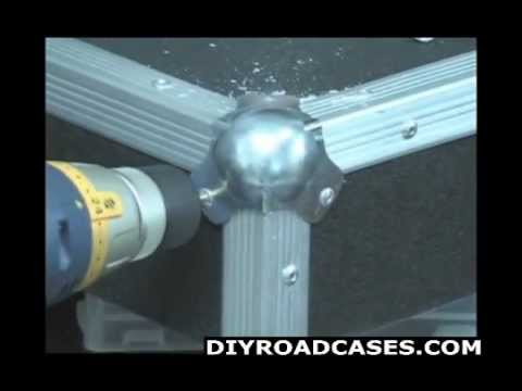 DIY Road Cases ® How To Remove Rivets - Road Case Repair - Featuring Larry Cox