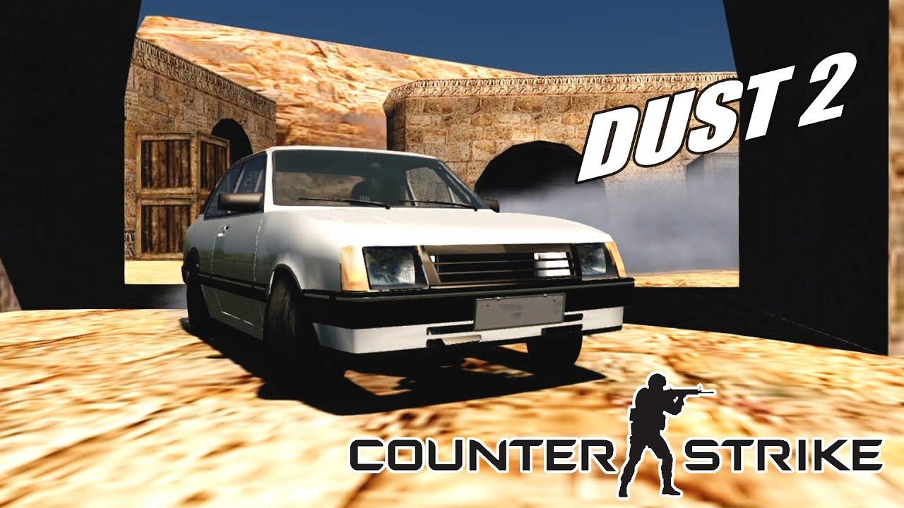 Counter-Strike - Drift Chevette Turbo de_dust2 (G27 mod)