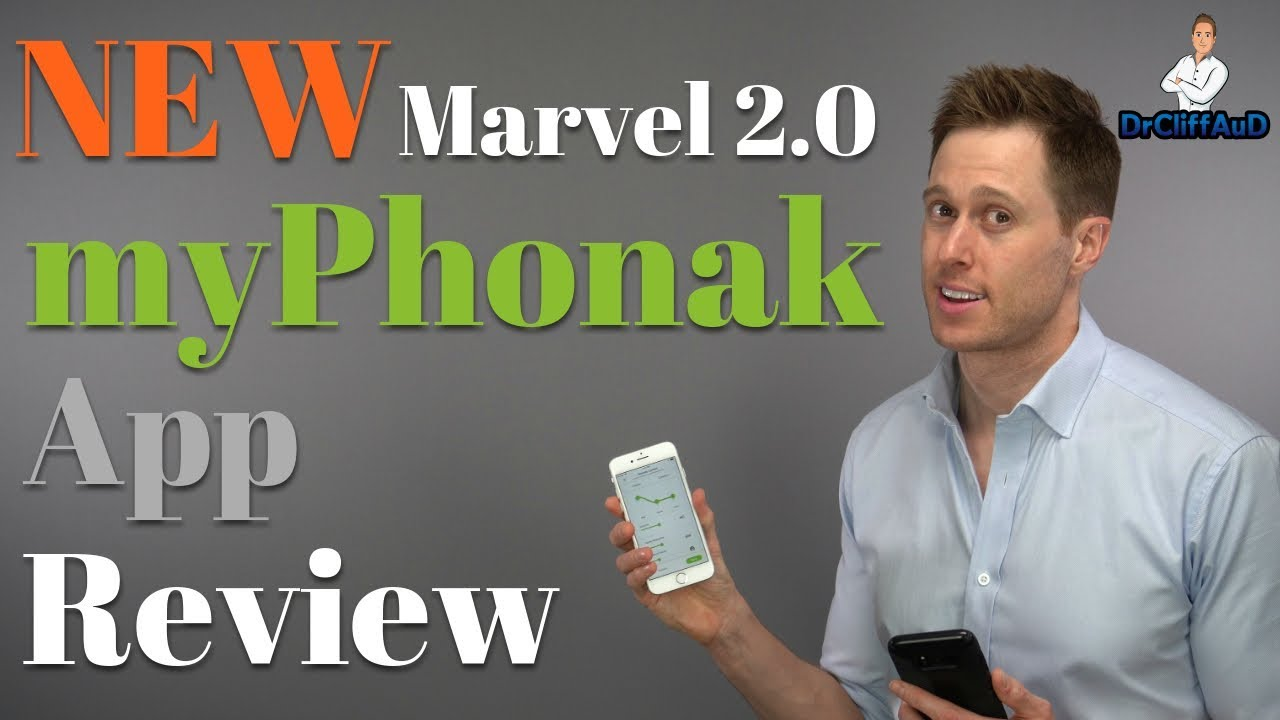 NEW MyPhonak Smartphone App Review | Phonak Marvel 2 0 Hearing Aids