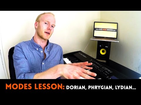 MODES EXPLAINED IN 13 MINUTES | Dorian, Phrygian, Mixolydian, Lydian, Phrygian...