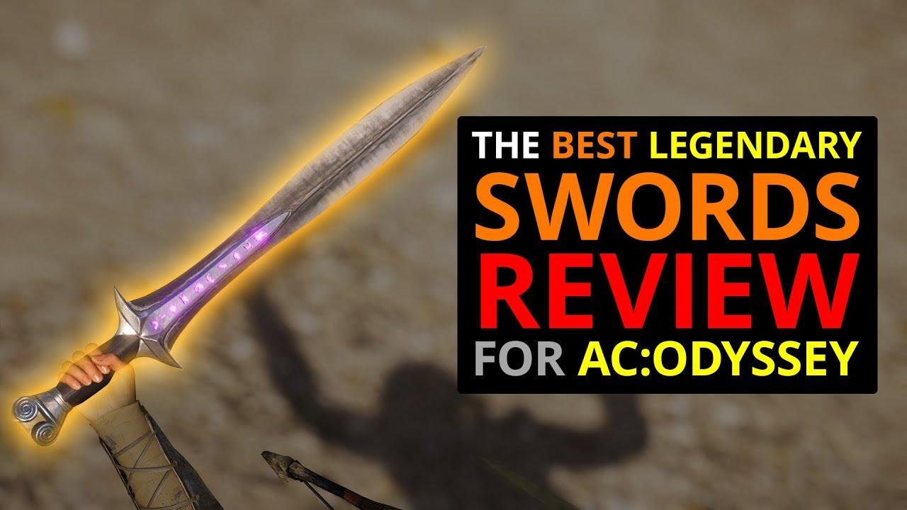 The Best Legendary Swords In Ac Odyssey Youtube