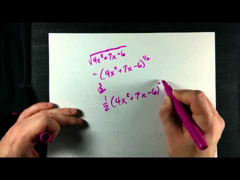 Derivative of a Composite Function