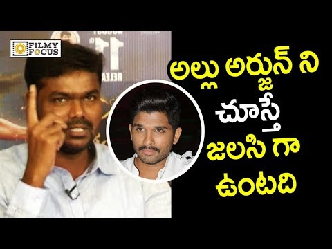Producer Ravindra Sensational Comments On Allu Arjun Character - Filmyfocus.com