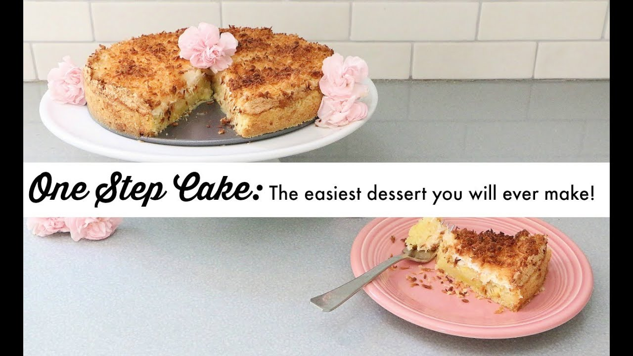 What is the easiest dessert that you know of?