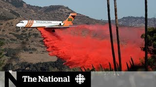 2017-12-09-03-45.Fires-in-California-declared-an-emergency-by-Trump