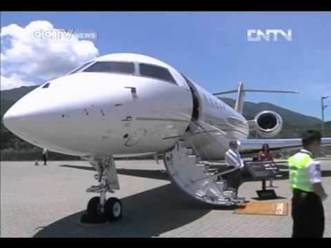 CHINA'S PRIVATE JETS WAITING TO TAKE OFF CCTV News