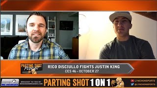 CES 46's Rico DiSciullo talks Justin King, Contender Series and solid golf game