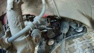 Замена втулок стабилизатора Skoda Fabia (VW Polo, Skoda Rapid) Простой способ