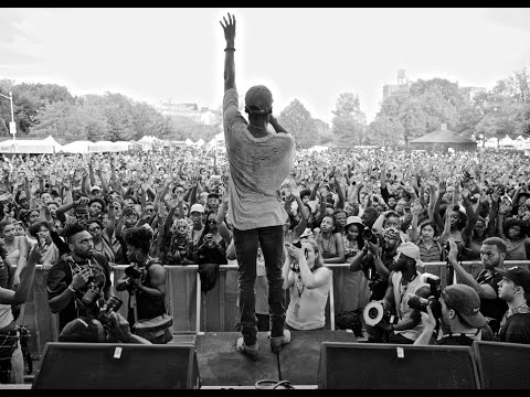 Goldlink Peforms at Afropunk Brooklyn 2015