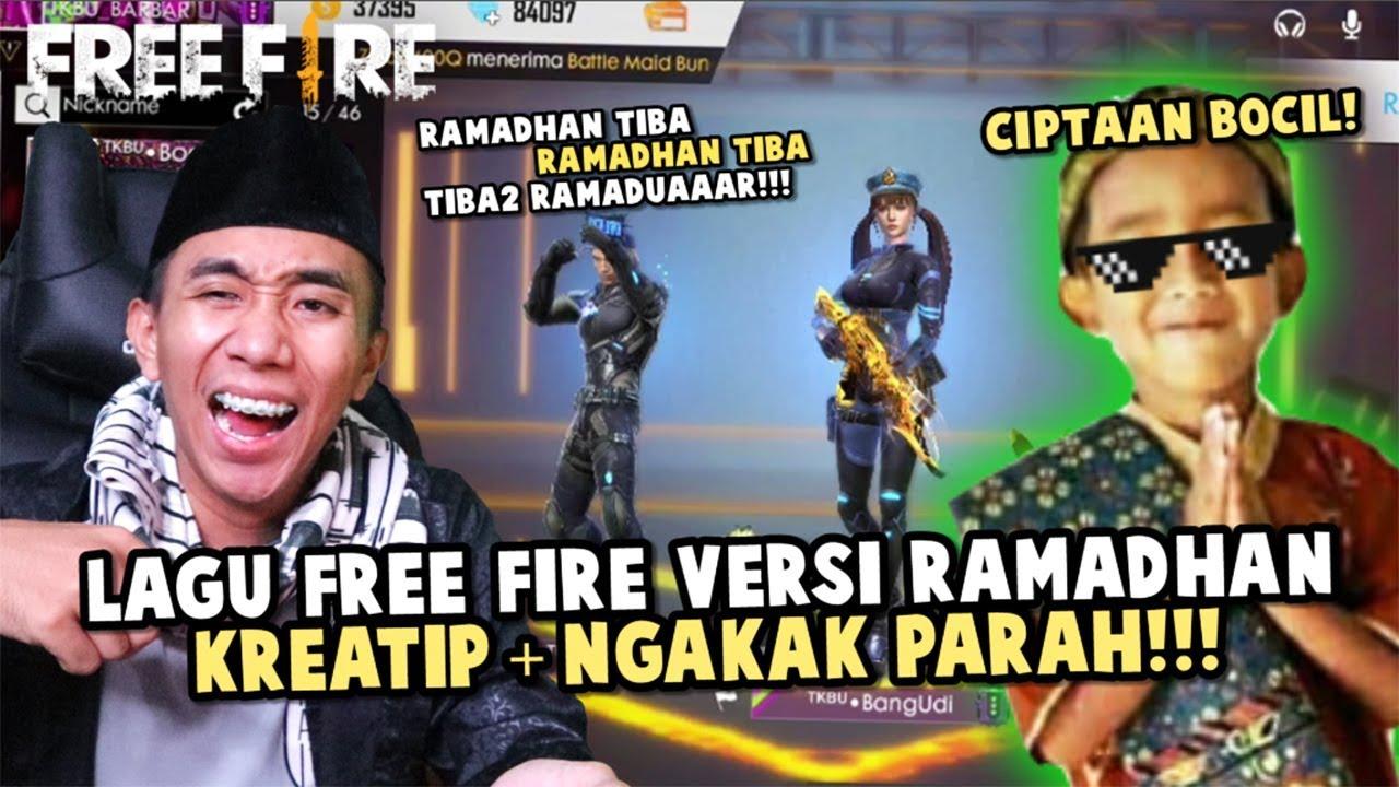 Lagu free fire special ramadhan terkocak ciptaan bocil