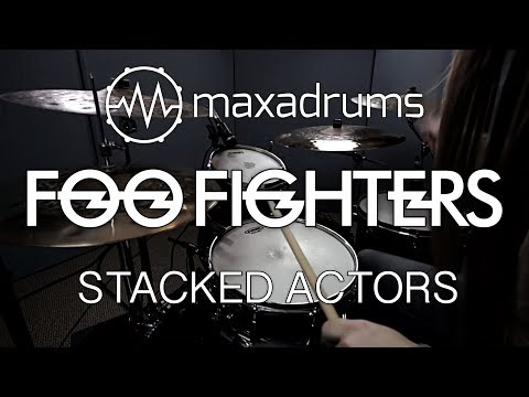 FOO FIGHTERS - STACKED ACTORS (Drum Cover + Transcription / Sheet Music)