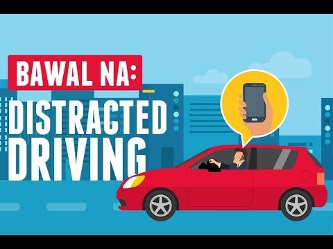 Mga bawal sa Anti-Distracted Driving Act