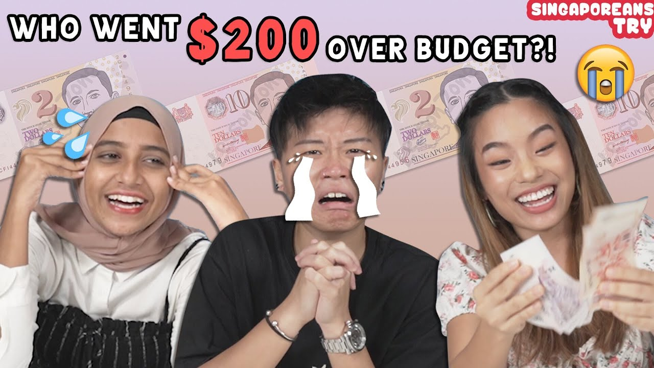 Singaporeans Try: Adults Live Off Their Secondary School Allowance For A Week