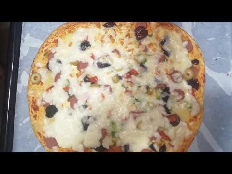 صورة  طريقة عمل البيتزا طريقة عمل البيتزا اللذيذة 🍕🍕 طريقة عمل البيتزا من يوتيوب