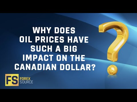Why Do Oil Prices Have Such A Big Impact On The Canadian Dollar?