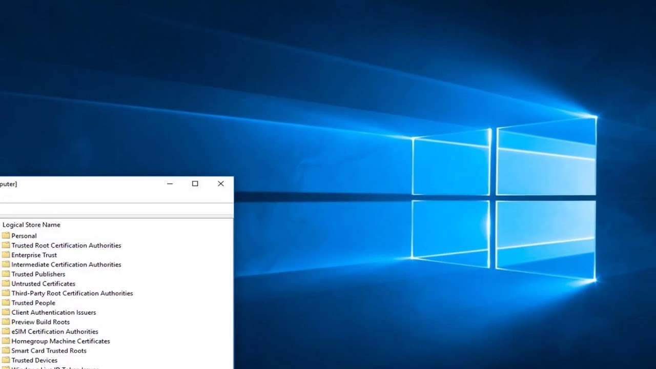 Fix Microsoft Management Console has Stopped Working
