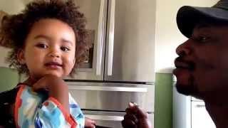 Child development. 20 month old baby understands 2 languages
