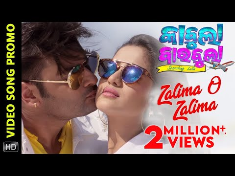 Zalima O Zalima | Video Song Promo | Kabula Barabula Searching Laila | Odia Movie | Anubhav | Elina