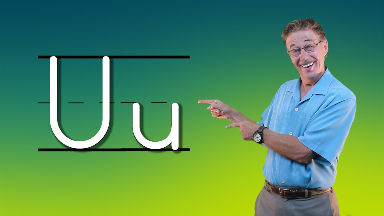 Learn The Letter U | Let's Learn About The Alphabet | Phonics Song for Kids  | Jack Hartmann