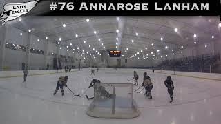 2018-2019 #76 Annarose Lanham GY 2023 Carolina Lady Eagle Highlights