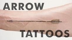 Small Arrow Tattoos