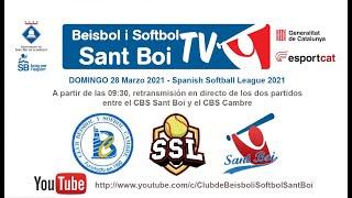 Spanish Softball League / CBS Sant Boi - CBS Cambre (1 de 2)
