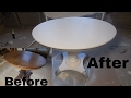 DIY furniture makeover ( saloon table)