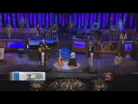 Little Jimmy Dickens' Funeral Held At Grand Ole Opry