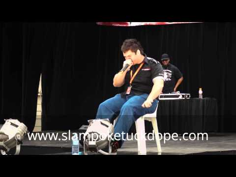 Daniel the human car sounds guy live @ Extreme Car Salon Sydney