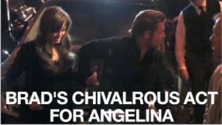 Brad Pitt & Angelina Jolie's Date Night in Paris