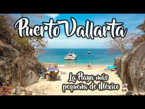 Visitamos la playa mas pequeña de México y te va a encantar! / Puerto Vallarta / 4k / UPXM