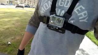 Пример видео на Firefly 8S. Едем за OnePlus 5 на самокате Speedway mini 4