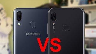 Samsung Galaxy M20, ¿O es mejor el Redmi Note 7? | review comparativa en español