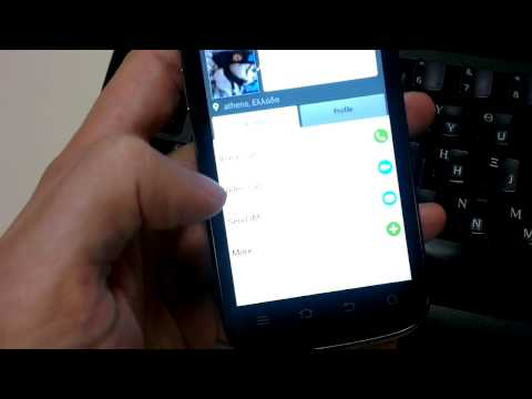 Skype App On Android 4.0.4 On My ZTE Grand X