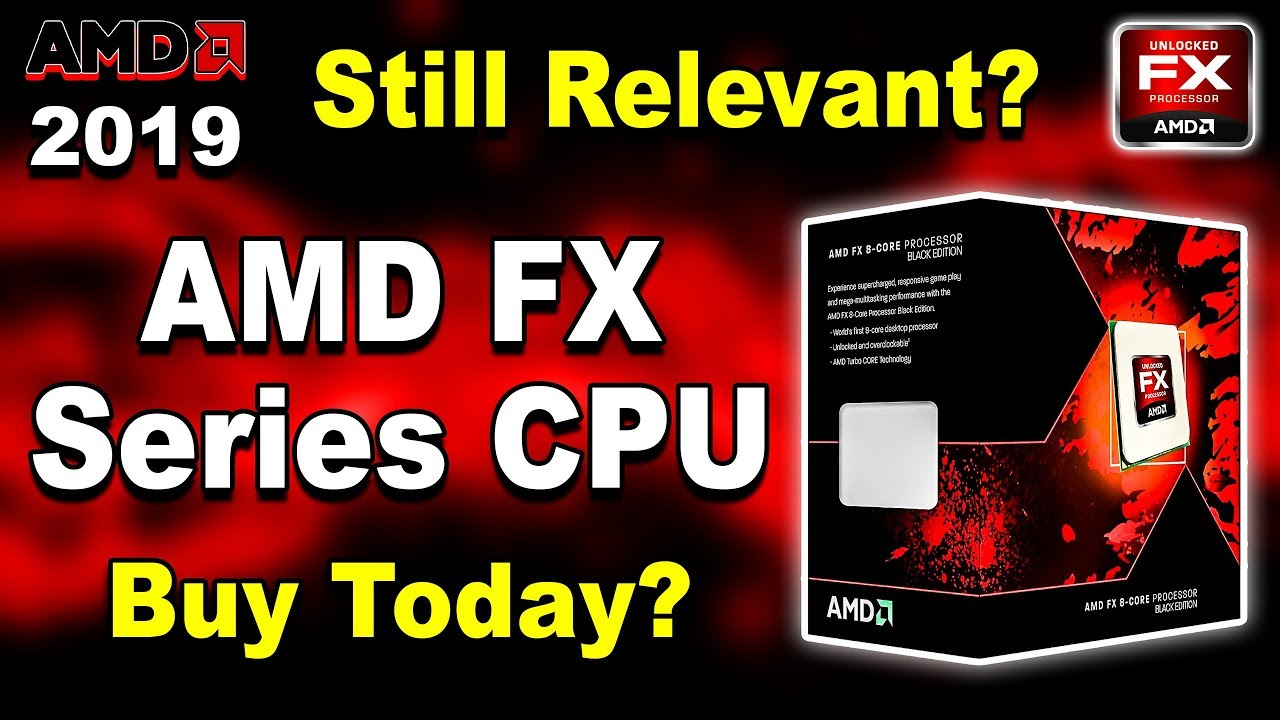 🔥 AMD FX Series CPU 🔥 Still Relevant in 2019? Should You Build PC On  Bulldozer & Piledriver? (Hindi)