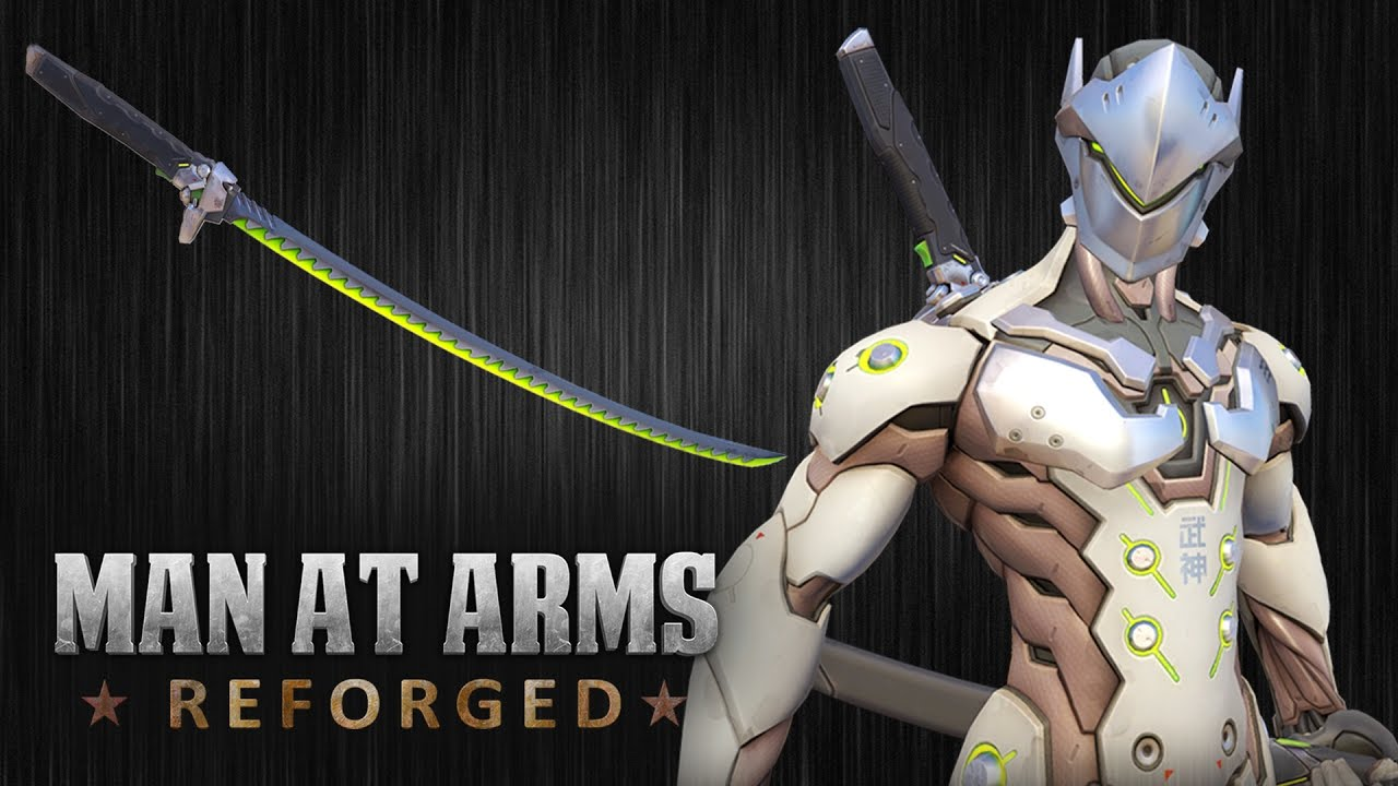 genji s sword overwatch man at arms reforged youtube
