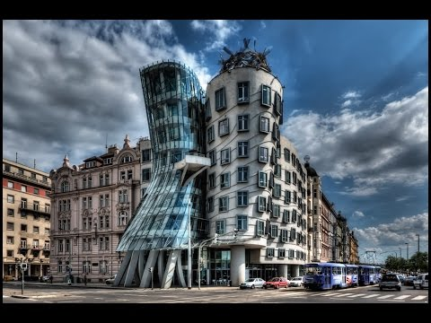 Prague - DANCING HOUSE from inside