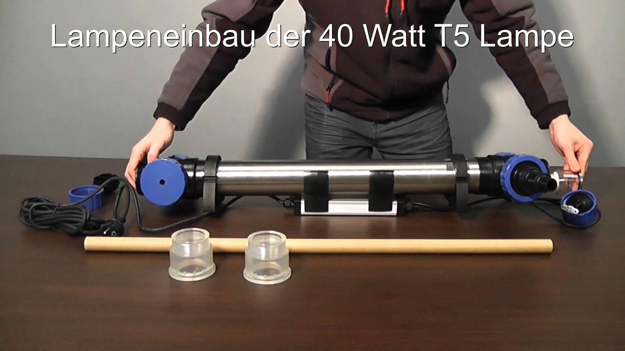 Aquaking stu 40 watt t5 youtube for Lampen 40 watt