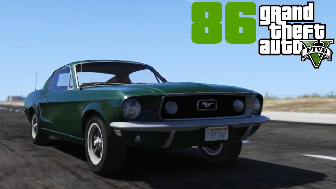 Gta v mods 086 i 1968 ford mustang gt deutsch hd