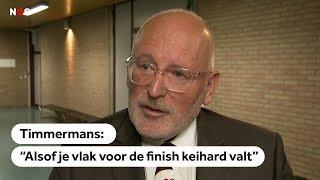 Frans Timmermans over de beslissing Europese Commissie