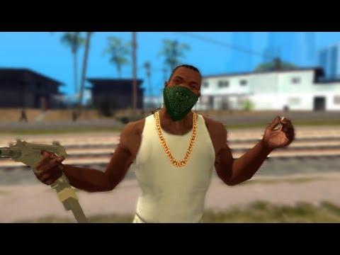 CJ gangsta level 100%