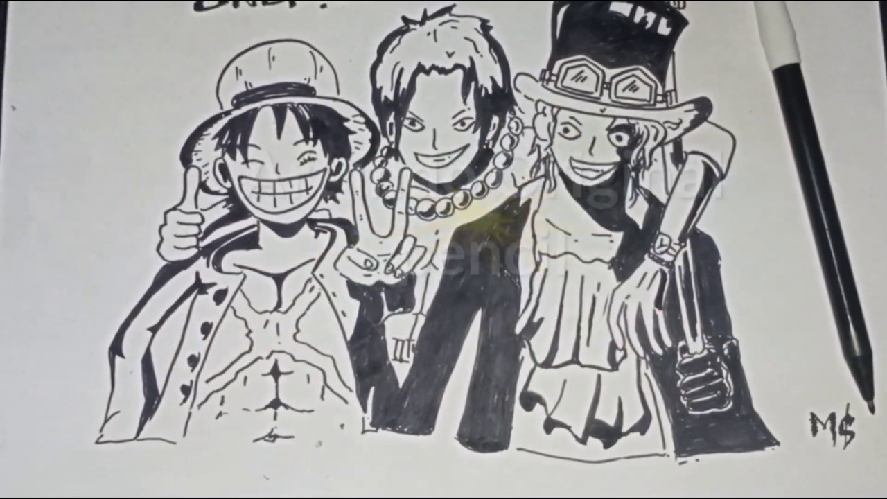 Onepiece Luffy The Trio Monster Youtube