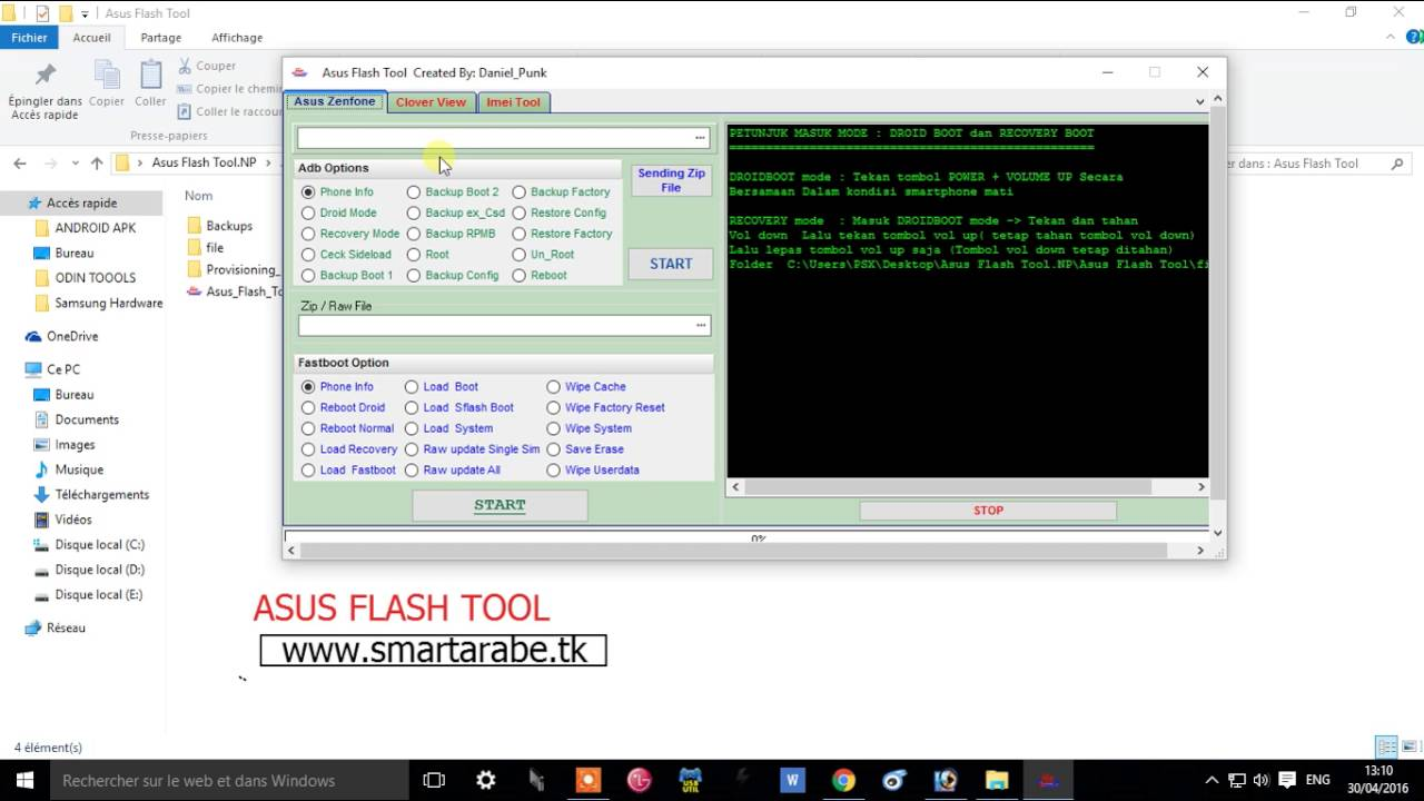 Asus Flash Tool Pro by PROGSM