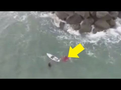 5 Unexpected Moments Caught On Camera DRONE!