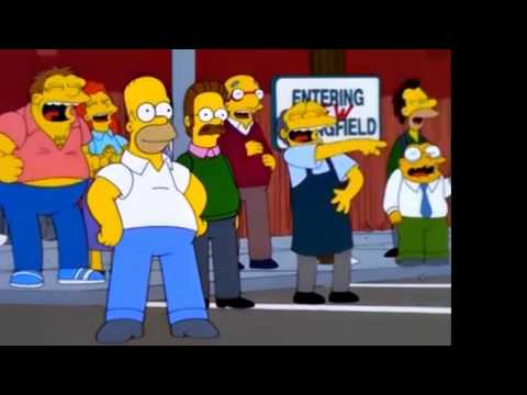 The Simpsons: Old and New Springfield [Clip]