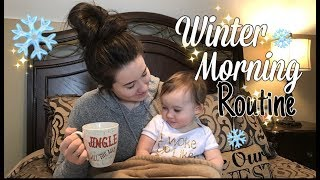 WINTER MORNING ROUTINE | MORNING CLEANING ROUTINE 2018
